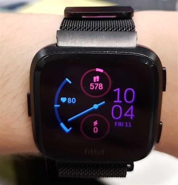 Cristian Danci verified customer review of Milanese Loop Fitbit Versa Band