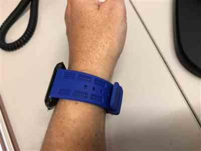 Anonymous verified customer review of Sports Silicone Fitbit Versa Band