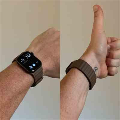 Johnny Foley verified customer review of Leather Loop Apple Watch Band