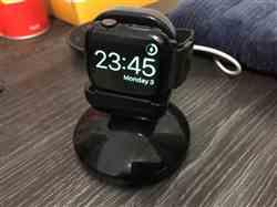 David B. verified customer review of Apple Watch Night Stand