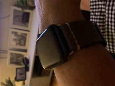 Joanne Roff verified customer review of Panerai Leather Apple Watch Band