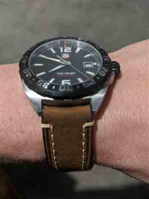 Ian Bates verified customer review of ITALIAN VINTAGE BROWN LEATHER