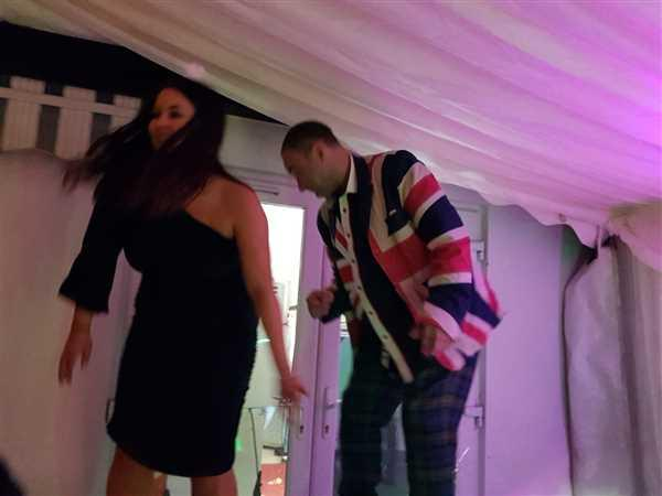 Trends Hair Studio verified customer review of Union Flag Jacket in X Design