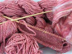 Julie P. verified customer review of Ashford Silk Merino Sliver - 2.2lbs (1kg) - Pomegranate
