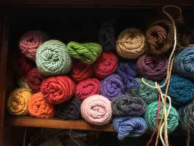 Linda . verified customer review of Brown Sheep Lambs Pride Worsted Yarn