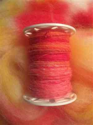Rachelle verified customer review of Paradise Fibers Cheviot Wool Roving- 1 lb. Special