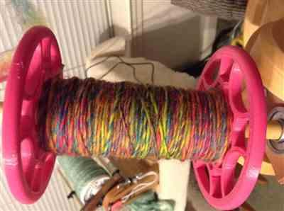 Laura Ast verified customer review of Paradise Fibers Space Dyed Wool