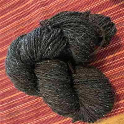 Kathleen Kelley-Peterson verified customer review of Paradise Fibers Black Welsh Mountain Top