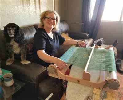 Sharon Mensing verified customer review of Ashford Rigid Heddle Looms