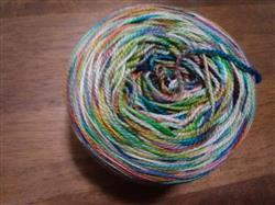 Paradise Fibers Plymouth DyeForMe Happy Feet Undyed Sock Yarn Review