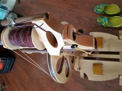 Barbara W. verified customer review of Paradise Fibers Revolution Spinning Wheel Complete Package