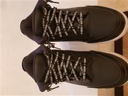 Laced Up Laces  WALK BY FAITH LACES - BLACK Review