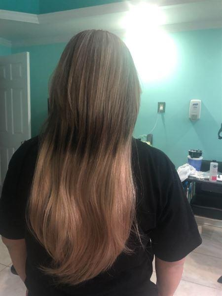 AmazingBeautyHair Tape In Hair Extension Balayage B#2/#18 Review