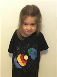 Tina C. verified customer review of Layers of the Earth Kids T-Shirt
