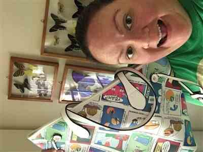 Ashley L. verified customer review of Amoeba Sisters Tote Bag