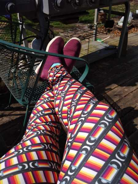 Svaha USA Retro VHS Adults Leggings with Pockets [FINAL SALE] Review