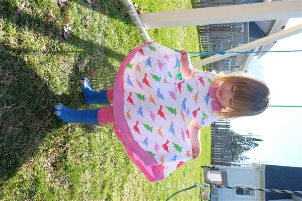 Svaha USA Dino Love Kids Twirl Dress Review