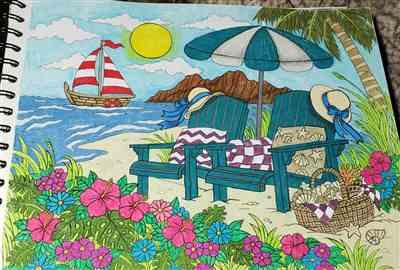 Carrie R. verified customer review of Tropical Scenes Illustrated By Hasby Mubarok