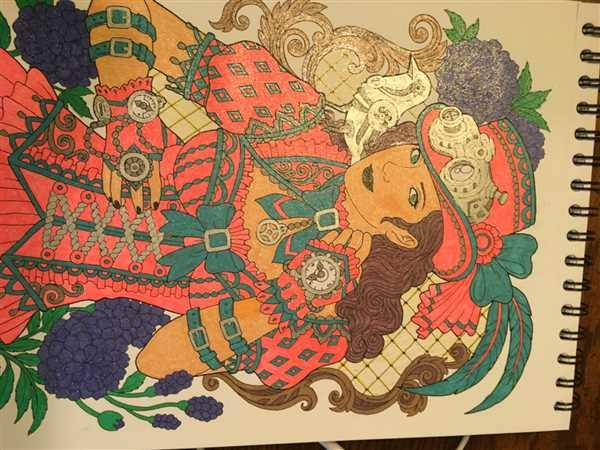 ColorIt Coloring Books Colorful World of Steampunk Illustrated By Hasby Mubarok Review