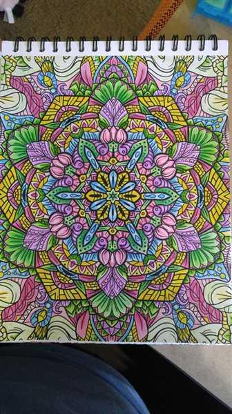 Diane Morrow verified customer review of Mandalas To Color Volume III Illustrated by Jackielou Pareja and Patrick Bucoy