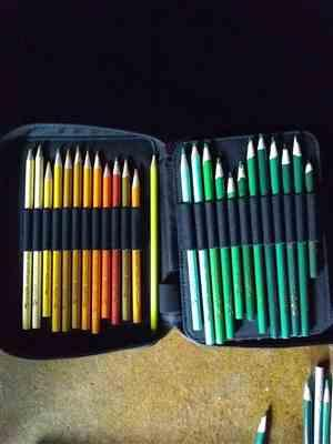 ColorIt Coloring Books 72 Pencil Holder Travel Case Review