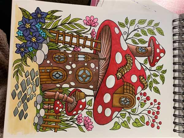 ColorIt Coloring Books Blissful Scenes Illustrated By Hasby Mubarok Review