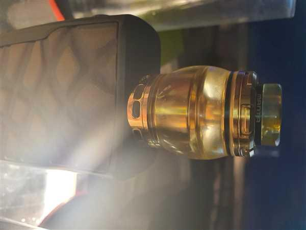 Grey Haze ECig Store ADVKEN Resin Manta RTA Review