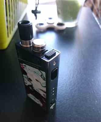 Louis Steel verified customer review of Smok Trinity Alpha Pod Kit 1000mAh