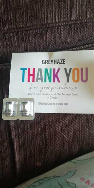 Grey Haze ECig Store OFRF NexMESH Sub Ohm Tank Replacement Conical Coils 2 pack Review