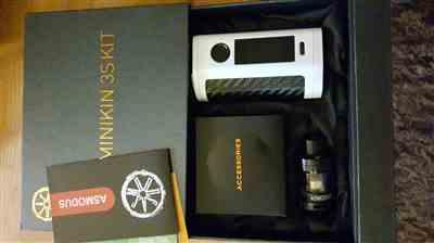 Carl Richardson verified customer review of Minikin 3S 200w Kit w/ Viento Sub-Ohm Tank