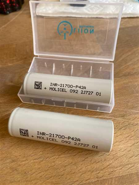 Dennis Remaley verified customer review of Molicel/NPE INR-21700-P42A 45A 4200mAh Flat Top 21700 Battery - Authorized Distributor