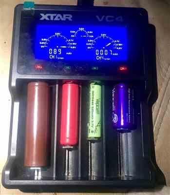 Brian W. verified customer review of XTAR VC4 Battery Charger