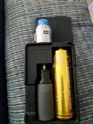 Janet W. verified customer review of Vapcell 20700 Gold/White 30A Flat Top 3100mAh Battery - Genuine
