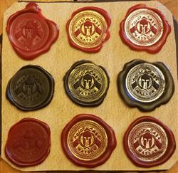Vincent W. verified customer review of LetterSeals.com Original Sealing Wax | With Wick