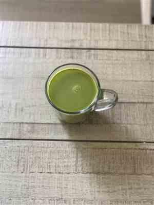 Jheri S. verified customer review of Matcha Collagen Latte