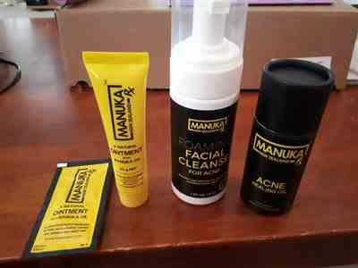 ManukaRX Foaming Facial Cleanse for the Prevention of Acne Review