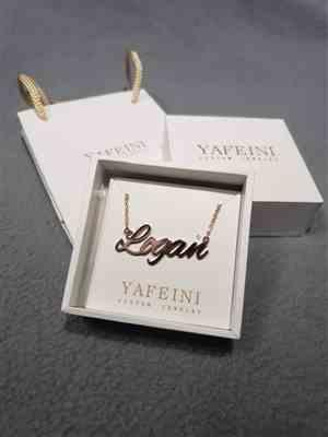 "Elga verified customer review of SophieStyle 10K/14K  Gold Personalized Name Necklace Adjustable 16""-20""- White Gold/Yellow Gold/Rose Gold"