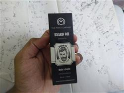 Vivek C. verified customer review of Beard Oil | Beard Growth Duo