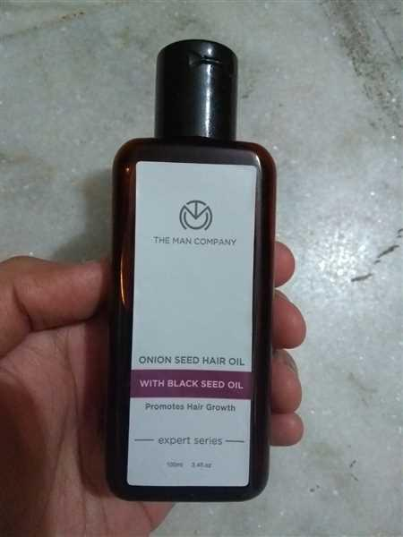 The Man Company ONION SEED HAIR OIL | BLACK SEED OIL Review