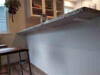 Tim M. verified customer review of Hidden Granite Countertop L Bracket