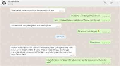 Glenn S. verified customer review of Sweet Romance Jabodetabek