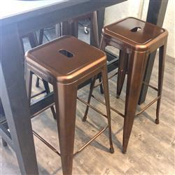 Just Bar Stools Tolix Replica Bar Stool 76cm (Set of 2) Bronze Review