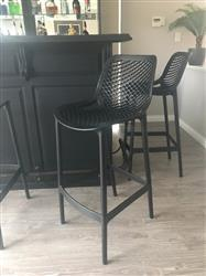 stacey m. verified customer review of Yorkshire Bar Stool 75cm Black