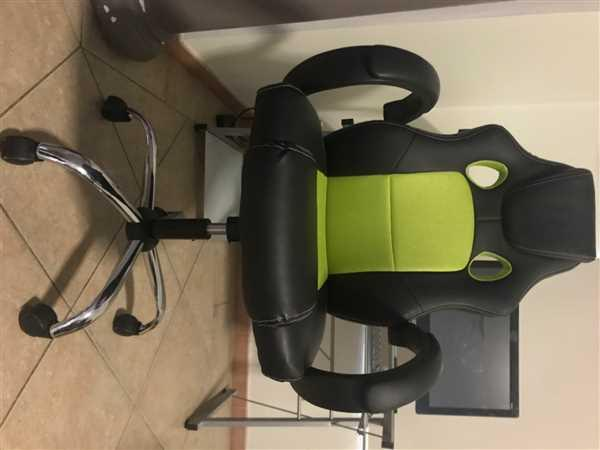 Just Office Chairs Fonsi Leather Racing Office Chair Green Review