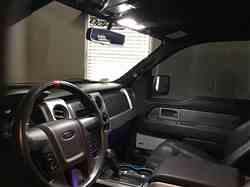 dave a. verified customer review of 2010-14 F150 RAPTOR LEDS Front Interior Light Kit