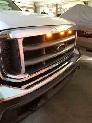Ken Y. verified customer review of Ford F150 1997-03 Raptor Style Extreme Amber LED grill Kit
