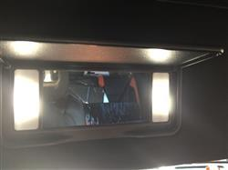 Christopher R. verified customer review of 2017-18 RAPTOR F-150 Front Interior Vanity Mirror LED Light Kit