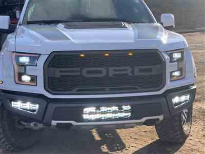Scott R. verified customer review of 2017 - 2020 F150 Raptor PALADIN Curved CREE XTE LED Lower Intake Bar System