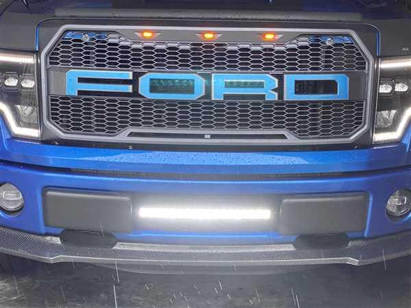 Scott S. verified customer review of 2009-14 F150 20 PALADIN 90W Curved Lower Intake LED Bar