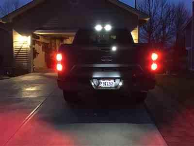 Monty Proffitt verified customer review of 2015 - 2020 F150 CREE TAIL LIGHT & BLINKER LIGHTS